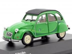 Citroen 2CV year 1986 green 1:43 WhiteBox