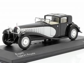 Bugatti Type 41 Royale black / silver 1:43 WhiteBox