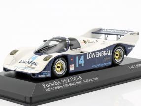 Porsche 962 IMSA #14 Winner IMSA 500 km Mid-Ohio 1986 1:43 Minichamps