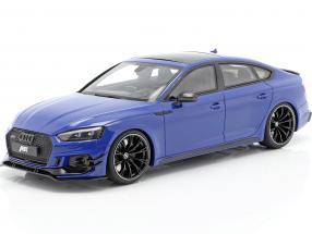 Audi ABT RS5-R Sportback year 2019 nogaro blue 1:18 GT-Spirit