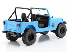 Jeep CJ-7 Dharma 1977 TV series Lost (2004-2010) blue