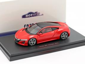 Honda NSX Concept Car 2013 red 1:43 Ebbro