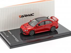Mitsubishi Lancer Evolution X Final Edition rally red 1:64 Tarmac Works