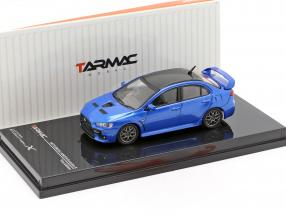 Mitsubishi Lancer Evolution X Final Edition octane blue 1:64 Tarmac Works