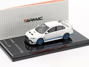 Mitsubishi Lancer Evolution X 311 RS white / blue 1:64 Tarmac Works