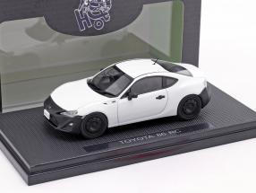 Toyota 86 RC satin pearl white 1:43 Ebbro