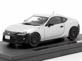 Toyota 86 RC sterling silver metallic 1:43 Ebbro