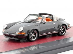 Porsche 911 Targa Singer Design 2014 grey metallic 1:43 Matrix