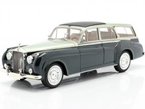 Rolls Royce Silver Cloud 2 by Harold Radford year 1959 green 1:18 Cult Scale