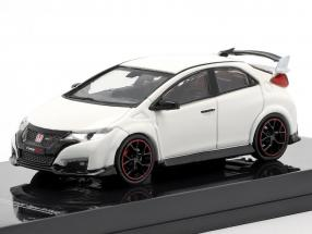 Honda Civic Type R (FK2) year 2016 championship white 1:64 Tarmac Works