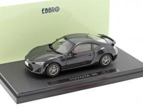 Toyota 86 dark grey 1:43 Ebbro