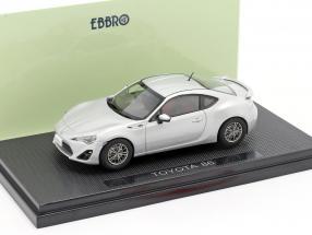 Toyota 86 silver 1:43 Ebbro