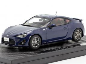 Toyota 86 dark blue 1:43 Ebbro