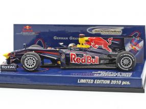 Sebastian Vettel Red Bull Racing Renault RB5 Showcar formula 1 2010