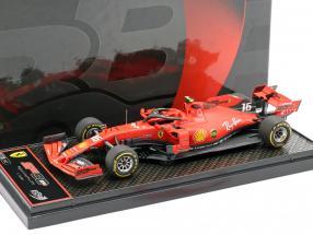 Charles Leclerc Ferrari SF90 #16 winner Belgian GP formula 1 2019 1:43 BBR