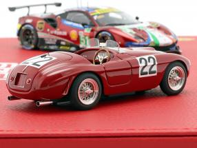 2-Car Set Ferrari 166MM #22 / 488 GTE #51 Winner 24h LeMans 1949 / 2019  BBR