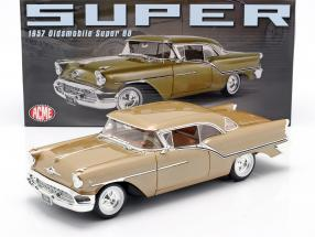 Oldsmobile Super 88 year 1957 gold metallic 1:18 GMP