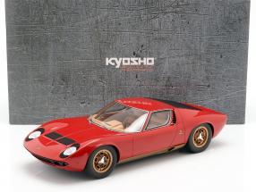 Lamborghini Miura P400 S year 1968-1971 red 1:12 Kyosho