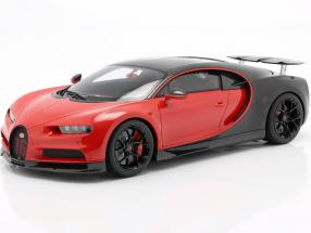 Bugatti Chiron Sport #16 year 2019 red / black 1:12 Kyosho
