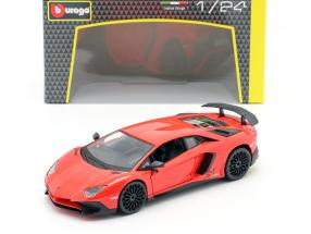 Lamborghini Aventador LP 750-4 SV red 1:24 Bburago