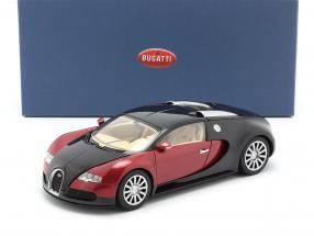 Bugatti EB 16.4 Veyron year 2006 black / dark red 1:18 AUTOart