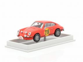 Porsche 911 S 2.0 #219 3rd Rallye Monte Carlo 1967 Elford, Stone 1:87 Brekina