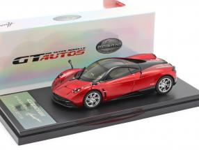 Pagani Huayra Year 2013 red / black 1:43 Welly
