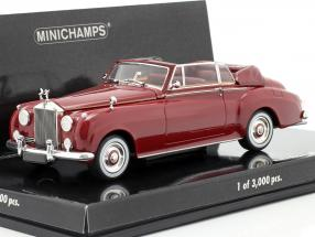Rolls Royce Silver Cloud II Cabriolet Year 1960 red 1:43 Minichamps