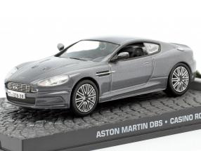 Aston Martin DBS James Bond movie Casino Royale gray Car 1:43 Ixo