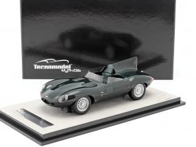Jaguar D-Type Press version 1957 british racing green 1:18 Tecnomodel