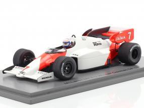 Alain Prost McLaren MP4/2 #7 Winner German GP F1 1984 1:43 Spark