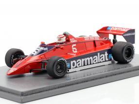 Nelson Piquet Brabham BT48 #6 Monaco GP formula 1 1979 1:43 Spark