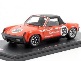 Porsche 914/6 #59 Winner Danville 300 IMSA 1971 1:43 Spark