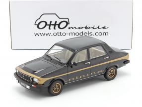 Renault R12 Alpine year 1978 black / gold 1:18 OttOmobile