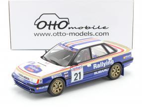 Subaru Legacy RS Gr.A #21 RAC Lombard Rallye 1991 McRae, Ringer 1:18 OttOmobile