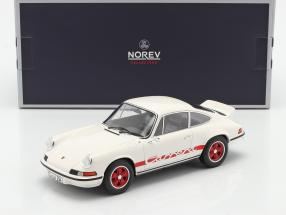 Porsche 911 Carrera 2.7 RS year 1973 white / red 1:18 Norev