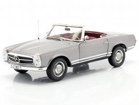 Mercedes-Benz 230 SL (W113) Cabriolet year 1963 anthracite metallic 1:18 Norev