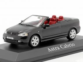 Opel Astra G Cabriolet black 1:43 Minichamps