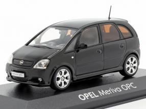 Opel Meriva OPC black 1:43 Minichamps