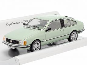 Opel Monza A year 1978-1982 green metallic 1:43 Schuco