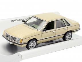Opel Senator A year 1978-1982 gold metallic 1:43 Schuco