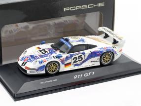 Porsche 911 GT1 #25 2nd 24h LeMans 1996 Wollek, Boutsen, Stuck 1:43 Minichamps