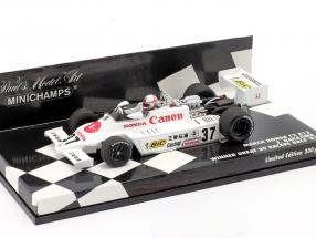 S. Nakajima March Honda F2 812 #37 Winner Great 20 Racers Race 1981 1:43 Minichamps