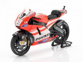 Nicky Hayden Ducati Desmosedici GP11 #69 MotoGP 2011 1:12 Minichamps