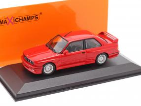 BMW M3 (E30) year 1987 red 1:43 Minichamps