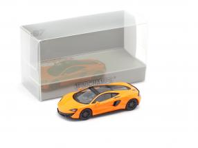 McLaren 570 GT year 2016 orange 1:87 Minichamps