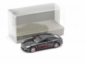Porsche Panamera 4S year 2015 grey metallic 1:87 Minichamps