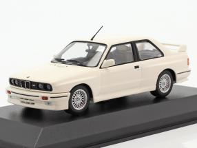 BMW M3 (E30) year 1987 white 1:43 Minichamps