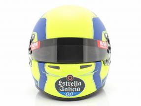 Lando Norris McLaren MCL35 #4 formula 1 2020 helmet 1:2 Bell