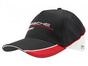 Porsche Motorsport Baseball-Cap black / red / white
